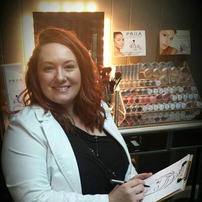 Charlene Gerogosian PRIIA Cosmetics