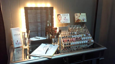 PRIIA Cosmetics available at Smooth Reflections in Apex NC